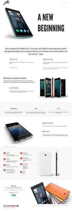 Jolla cambia el diseño de su página web y tiene un aspecto espectacular.