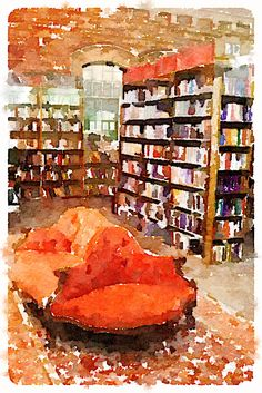 Tattered Cover watercolor