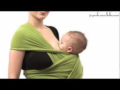 Advanced Babywearing: Breastfeeding in Kangaroo Hip Carry with Moby-style Stretch Wrap