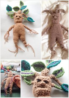 Crochet Magical Mandrake Baby