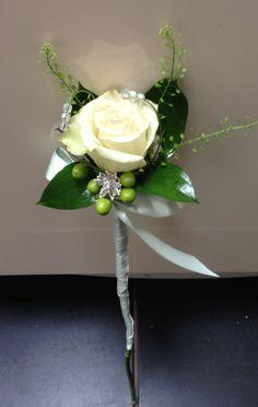 Flower girl rose wand
