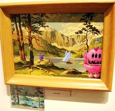 thrift store paintings monsters - Yahoo! Search Results