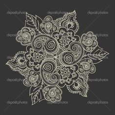 Paisley lace tattoo   pretty design by julianne