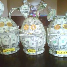 Bunny money a great way to give money for easter easter stuff easter money bunnies negle Image collections