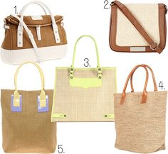 want: straw bags