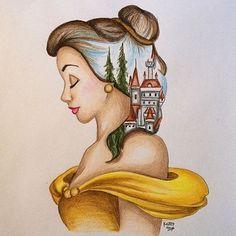 Belle fan art                                                                                                                                                                                 More
