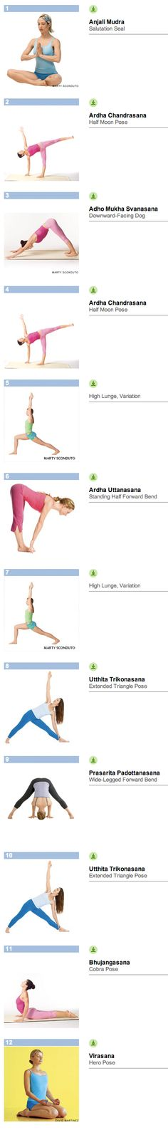 Short yoga sequence #2