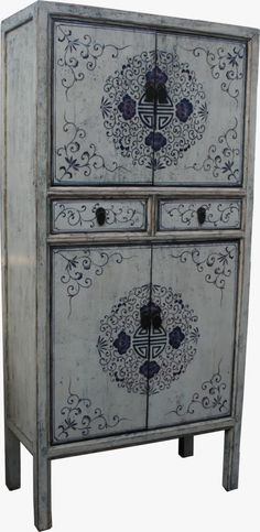 Chinese wedding cabinet - Louise May Heath Owner and Operator of LuxTouch Vintage furniture and decor