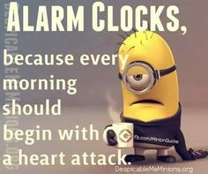 LOL! And it doesn't seem to matter which ringtone or audible you choose – it's still a heart attack.
