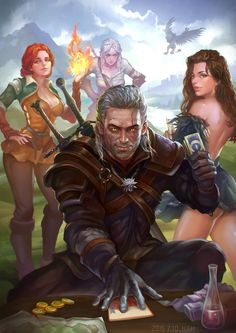 Shut up and let's play Gwent!!!!! by HXH17 on @DeviantArt