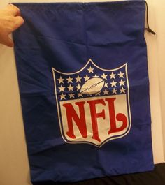 "NFL Lightweight 19"" by 26"" Bag With Drawstring"