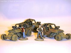 Mad Max style cars.