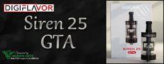 Bella Vapes Reviews: Digiflavor Siren 25 GTA Review
