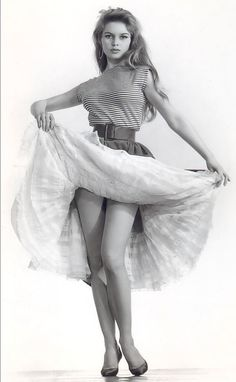 Brigitte Bardot - #icons #brigitte #bardot  Boat Neck jersey staple tee