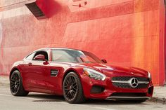 """No one else wears """"Mars Red"""" with such an... - Mercedes-Benz"""