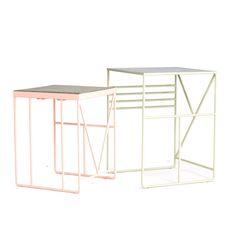Isländisches Design: Schönes Verbindet - Plattform für Lifestyle und Trends Tischchen mit geradlinigem Design