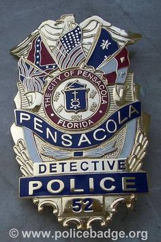 Badge Pensacola Police Department by dynamicentry122, via Flickr