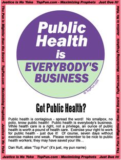 Public Health is what I love!