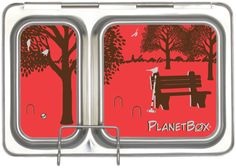 PlanetBox magnets decorate your metal lunchbox