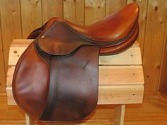 "Love this comfy saddle! 2010 Butet 17"" (very generous) wide tree, 2 flaps. COMFY! $3,475. Free pair of Royal Riders with purchase if you mention this Pin!"