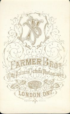 Farmer Brothers of London, ON - Vignette of Young Women
