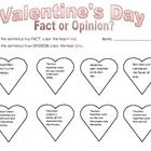 Students will decide if each sentence is a fact or an opinion and color the hearts accordingly.  ...