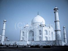 Taj makes love with moon-light. Oh my God! just look at it blushing Love Symbols, Wonders Of The World, Moonlight, Taj Mahal, Marvel, God, Building, Amazing, Photography