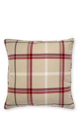Soft Check Cushion (865833X54) | £14 Checked Cushions, Large Cushions, Large Sofa, Velvet Cushions, Scatter Cushions, Cushions On Sofa, Bed Pillows, Kitchen Sofa, Chunky Knit Throw