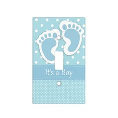 It's A Boy Light Switch Light Switch Cover  #Baby #Infant #LightSwitchCover