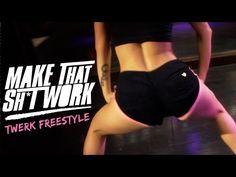 Sexy white girl twerk team in hot booty shorts vídeo