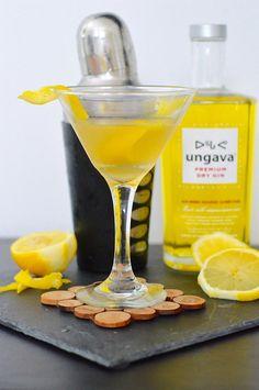 Un martini au citron inspiré par le Ungava, un exc...
