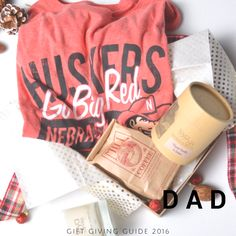 We think Daddio will seriously enjoy our Forest Pine Feya Candle, a t-shirt supporting his favorite team (I come from a die-hard Husker family, hence Nebraska gear), and a bag of the always-amazing Mill Coffee.  Sipping a locally roasted, aroma filled, high quality cup of joe while watching the upcoming bowl game, and lounging with the smell of the great outdoors in his man cave, Dad's gong to be one happy dude!   more information at: http://www.feyacandle.com/gifts.html