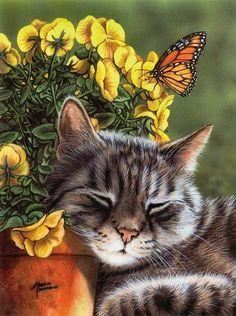 çizim kedi resimleri