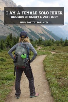 Hike Alone. Thoughts on Safety, Risk, and Motivation for Hiking and Trail Running as a Solo Female. I Hike Alone. Thoughts on Safety, Risk, and Motivation for Hiking and Trail Running as a Solo Female. Thru Hiking, Camping And Hiking, Camping Gear, Camping Hammock, Winter Camping, Family Camping, Hiking The Appalachian Trail, Camping Solo, Kids Hiking