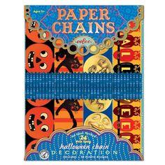 Halloween Paper Chain| eeBoo