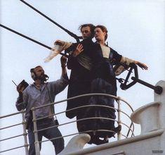 Rare Behind the Scenes Movie images The Titanic