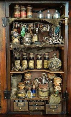 Witch Cupboard: #Witch's #Cupboard.