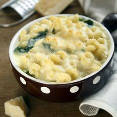 You'll need the same amount of calcium while nursing as you needed during pregnancy: 1,000 milligrams per day. Many women don't meet this minimum, so it's particularly important to include leafy greens (like spinach) and low-fat cheeses in your diet. Use whole-wheat macaroni in this recipe for an additional boost of folate.