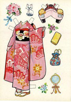 That's All You Do... - I got 2 more Japanese paper doll books! So…I'll...