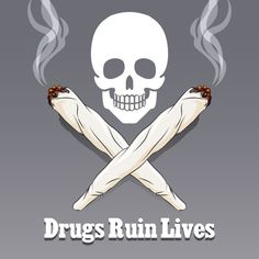 Vector anti drug poster by Microvector on Creative Market