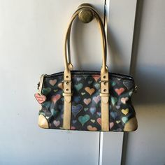 Dooney & Bourke Bag Colorful and fun for a Spring or Summer bag Dooney & Bourke Bags Satchels