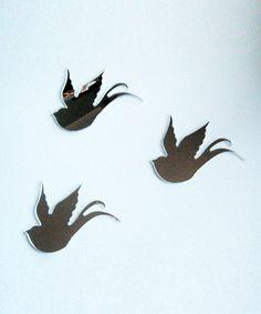 Fly Away Bird Mirrors #birdies #kids #playful