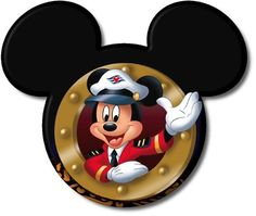 4 Disney Cruise Magnets for stateroom door by DisneyforFUN on Etsy, $15.00