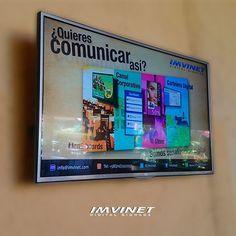 Innovar lo es todo #SomosParteDelCambio #IMVINET #DigitalSignage #SeñalizaciónDigital #Marketing #Publicidad #RRPP