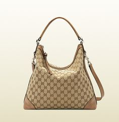 miss GG original GG canvas hobo.  **I'm in search of a new Gucci purse to replace my old one that went m.i.a. This may be a winner