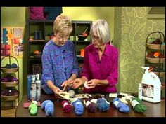 video: Unicorn Fibre wool wash... helps with reducing itch - Knitting Daily TV Episode 612's How-To Segment with Deb Robson