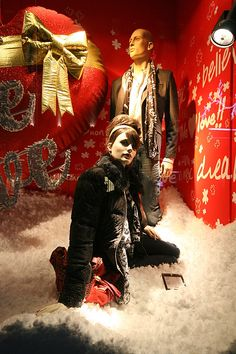 Desigual Christmas Shop Windows London!