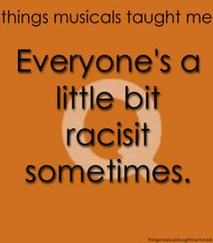 Things Musicals Taught Me - Avenue Q