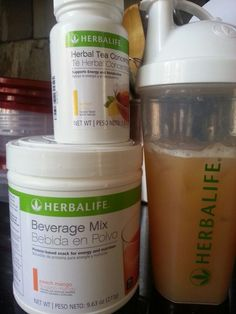 Herbalife Beverage Mix snack that provides 15g protein & energy. Mix w/ herbal tea to boost metabolism and energy.