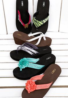 The most comfortable flip-flops ever!